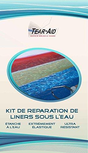 Reparaturset, sekundenschnell und ohne Kleber, für Innenhülle von Schwimmbädern / Teichen