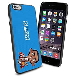 NBA LA Los Angeles Chris Paul Cartoon , Cool iphone 4 4s Smartphone Case Cover Collector iphone TPU Rubber Case Black