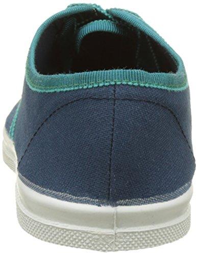 Bensimon Tennis Lacet Gros Grain - Botas Mujer Azul (Bleu)