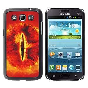 Caucho caso de Shell duro de la cubierta de accesorios de protección BY RAYDREAMMM - Samsung Galaxy Win I8550 - Snake Eye