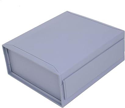 Aexit 240mmx210mmx100mm ABS Caja de conexiones de caja de conexiones de proyecto (model: B9655VIX-6510CG) electrónico de plástico: Amazon.es: Bricolaje y herramientas