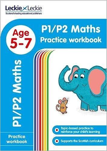 P1/P2 Maths Practice Workbook (Leckie Primary Success): Amazon.co.uk ...