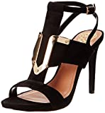 Vince Camuto Women's Florin Dress Sandal,Black,7 M US