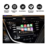 RUIYA 2018 Toyota Camry In-Dash Screen Protector, HD Clear Tempered Glass Car Navigation Screen Protective Film, AXVH70 AXVH70N Compatible with LE SE (7-Inch)