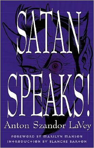 Amazon satan speaks 9780922915668 anton szandor la vey 9780922915668 anton szandor la vey anton szandor lavey blanche barton marilyn manson books fandeluxe Gallery
