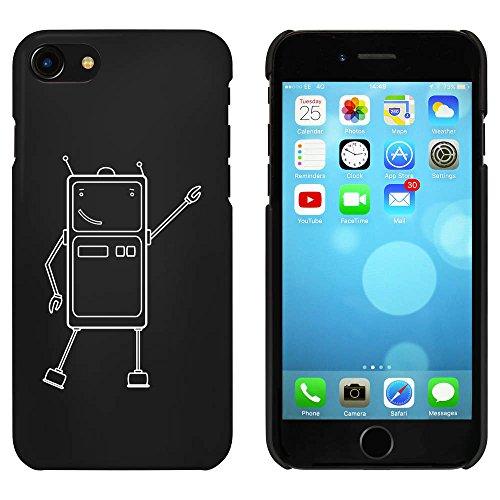 Noir 'Robot de Danse' étui / housse pour iPhone 7 (MC00058585)