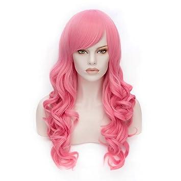 28 Largo lockig Lolita Fashion Harajuku Cosplay Hair Full Wig Peluca