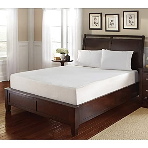 WHITE by Sarah Peyton Home Collection WHITE by Sarah Peyton 8-inch Full-size Convection-Cooled Gel Memory Foam - Gel Cooled