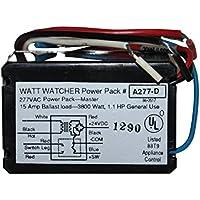 WattStopper A277-D Watt Watcher Power Pack 277VAC Occupancy Sensor 15A Ballast