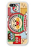 iPhone 5S Phone Case,Anpanman Popular Gifts Case Cover for iPhone 5,5S and iPhone SE(White)