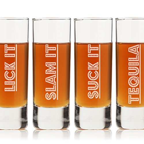 Fun Tequila Shot Glasses