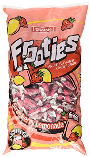 Strawberry Lemonade Frooties Tootsie Roll wrapped chewy candy 38.8 oz]()