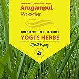 Yogis Herbs Arugampul Powder–Bermuda Grass Powder(Cynodon Dactylon) -1lb–Fresh & Pure