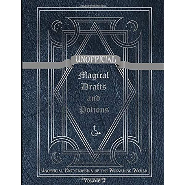 MAGICAL DRAFTS AND POTIONS Textbook in 1:6 Scale Illustrated Readable Spell Book