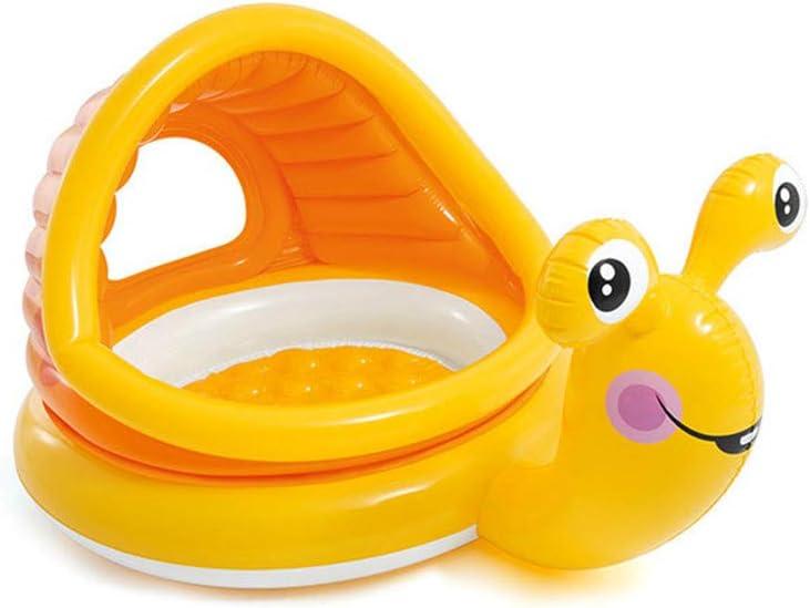 YAOXI Bebé Inflable Nadando Piscina, Retirable Dibujos Animados Pabellón Nadando Piscina para Niños pequeños Niños Al Aire Libre Carpa Bebé Remar Piscina Playa