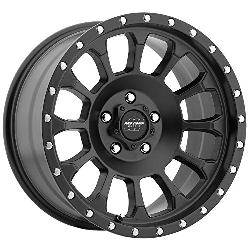 PRO COMP Series 34 Rockwell Satin Black (17x8.5 / 5x5, used for sale  Delivered anywhere in USA