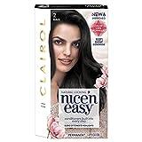 Clairol Nice 'N Easy Permanent Hair Color, 2 Black