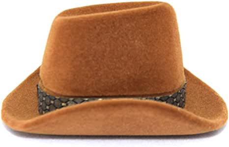 museourstyty Caja para Anillos con Forma de Sombrero de Vaquero, joyero: Amazon.es: Hogar