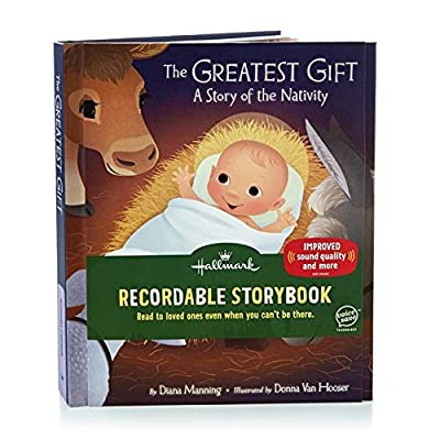 "Hallmark ""The Greatest Gift: A Story of the Nativity"" Recordable Storybook: Toys & Games"