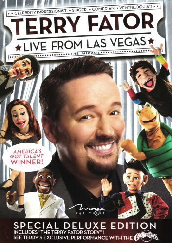 """Terry Fator: Live from Las Vegas (Special Deluxe Edition with """"The Terry Fator Story"""" & Performance with The Commodores)"""