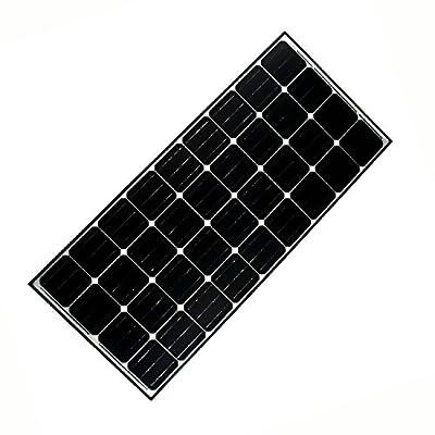 ALEKO LO-6XTZ-BP6O Solar Panel Monocrystalline 100W for any DC 12V Application