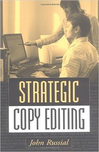 Strategic Copy Editing: John Russial Phd: 9781572309265: Amazon ...