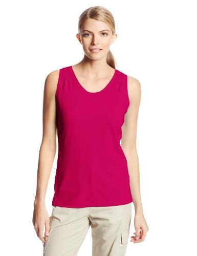 Columbia Sportswear Women's Trail Crush Sleeveless Shirt, Groovy Pink, Large