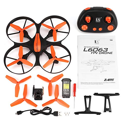 Knossos L6063 4CH RC Drohne Quadcopter Quadcopter Quadcopter Höhenstand halten mit 720P Kamera One Key Return Orange 1ca335