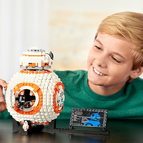 LEGO Star Wars BB-8 75187 Building Kit (1106 Piece) JungleDealsBlog.com