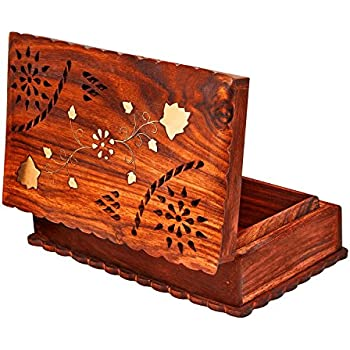 Amazoncom Great Birthday Gift Ideas Handmade Wooden Jewelry Box