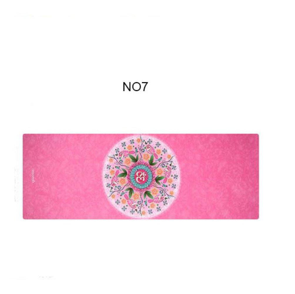 Faltbare Yogamatte der Mikrofaser Faltbare Yogamatte Natürliche Umweltyoga-Matte Anti-Rutschyogamatte