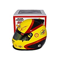 AUTOGRAPHED 2017 Joey Logano #22 Shell Pennzoil Racing (Team Penske) Monster Energy Cup Series Signed Lionel Collectible NASCAR Replica Mini Helmet with COA by Trackside Autographs