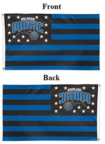 Wincraft NBA Orlando Magic 14723115 Deluxe Flag, 3' x 5'