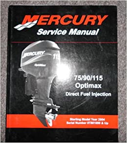 Mercury Optimax 75 Manual