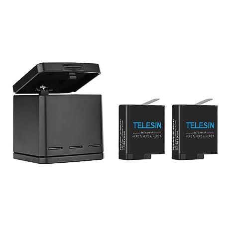Amazon.com: Festnight TELESIN - Cargador de batería portátil ...
