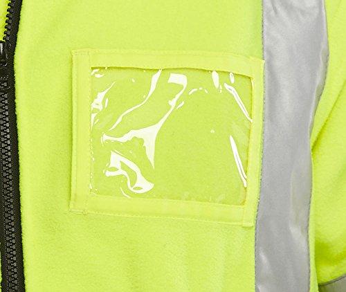 BSeen BD231SYNXXXL Veste polaire assis/jaune/bleu marine Taille XXXL