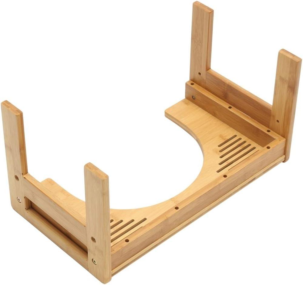 Espesar bambú de asiento de inodoro Taburete del pie del niño de ...