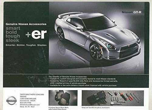 2010 Nissan GT-R Accessories & Merchandise Brochure from Nissan