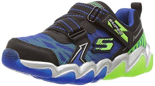Skechers Kids Kids Skech-Air 3.0-Downswitch Sneaker Black/Blue/Lime