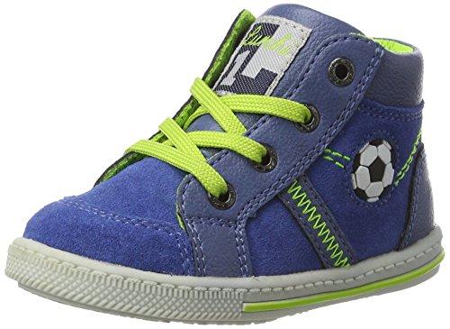 LurchiBingi - Botines de Senderismo Bebé-Niñas Azul (Cobalt)
