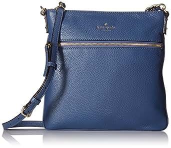kate spade new york Cobble Hill Ellen Cross Body Bag, Moonlight Blue, One Size