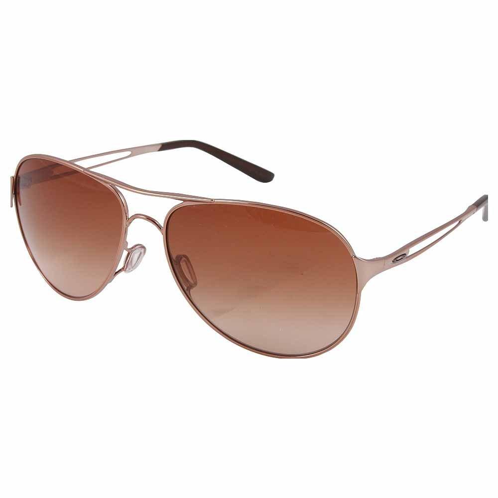 Oakley Caveat Women's Sunglasses - Rose Gold/VR50 Brown Gradient by Oakley