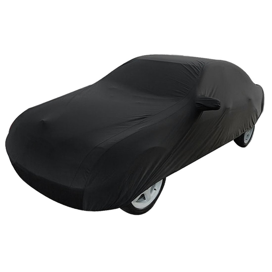 uxcell 3XXL 530cm 190T Black Stormproof Breathable Outdoor Indoor Car Cover US-SA-AJD-41115