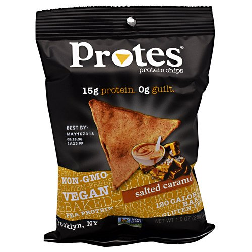 Protes Protein Chips, Salted Caramel 24 - 1 oz. Bags