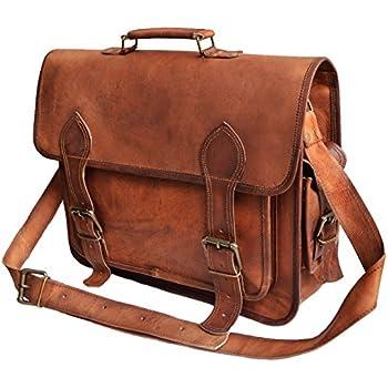 Amazon.com: El-Cuero Leather messenger 15.6