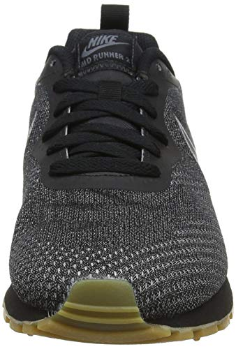 WMNS Black MD Eng Noir Nike Black 2 de Fitness Mesh Femme 005 Dark Runner Chaussures Grey RdPwAxU