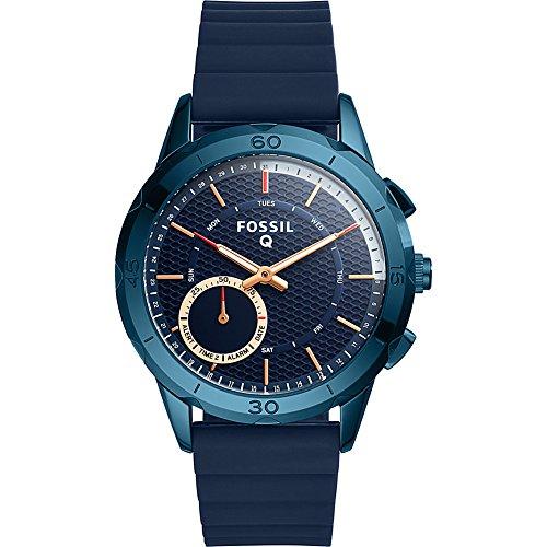Fossil Q Modern Pursuit Gen 2 Hybrid Smartwatch Navy Blue Silicone FTW1136