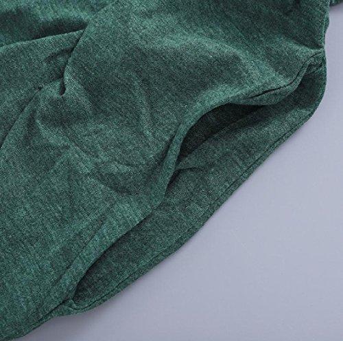 Top Puro Coolred tank Da Colore Verde Tasche Da Sera Eleganti Base Donna Abiti Di 55YrwB
