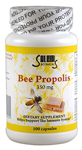 BlueArrowExpress Bee Propolis 100 Capsules - Natural Anti...