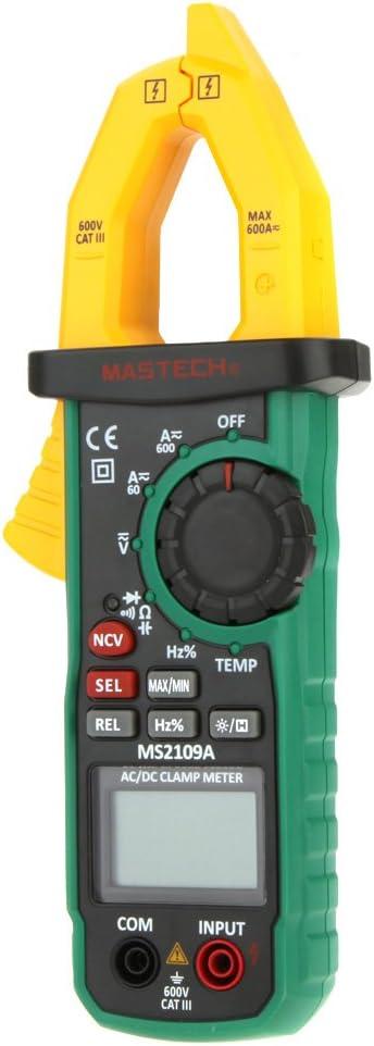 Yadianna MCH-98100A Digital Clamp Multimeter High Precision AC DC Automatic Range Digital Clamp Meter